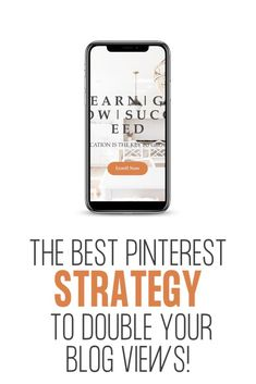 The best Pinterest strategy | How to increase blog traffic | The number one Pinterest strategy #pinterest #pinterestmarketing #pinteresttips #blogging #bloggingtips #bloggingforbeginners #blogtraffic #pinterestforbusiness