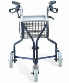 3-wheel Rollator with Powder-coated