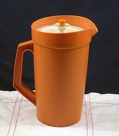 we so had these Tupperware pitchers.