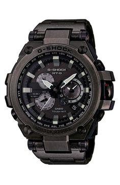 G-Shock 'Solar Atomic' Chronograph Bracelet Watch, 66mm x 56mm
