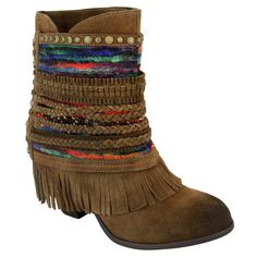 """Naughty Monkey """"Poncho"""" Ankle Boots – Two Funky Cousins"""