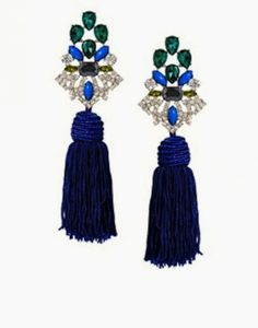 Browse online for the newest ASOS Premium Jewel Tassel Earrings styles. Shop easier with ASOS' multiple payments and return options (Ts&Cs apply). Diy Tassel Earrings, Statement Earrings, Dangle Earrings, Crystal Earrings, Asos Premium, Earring Trends, Baubles And Beads, Funky Jewelry, Fashion Earrings