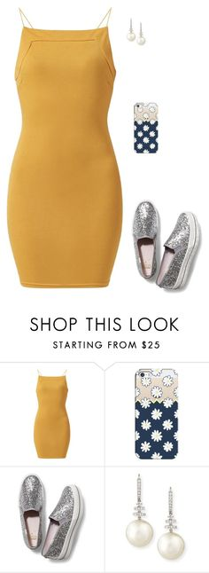 """""""Untitled #250"""" by madeleine-njk ❤ liked on Polyvore featuring AX Paris, Casetify, Keds and Belpearl"""