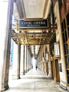Civic Opera Chicago Chicago Photography City Photography