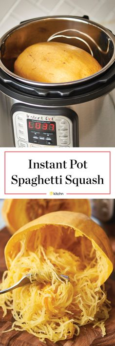 Make cooking spaghetti squash easier and faster with an electric pressure cooker. How To Cook Spaghetti Squash in an Instant Pot - How To Cook Spaghetti Squash in an Electric Pressure Cooker Instant Pot Pressure Cooker, Pressure Cooker Recipes, Pressure Cooking, Pressure Cooker Baked Potatoes, Pressure Cooker Ribs, Instant Cooker, Pressure Pot, Electric Pressure Cooker, Instant Pot Veggies