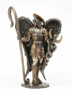 Amazon.com - SAINT RAPHAEL THE HEALER STATUE ARCHANGEL - Angel Raphael Statue