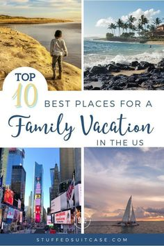 Us Family Vacations, Best Family Vacation Spots, Vacations In The Us, Family Travel, Vacation Ideas For Families, Family Summer Vacation Ideas, Kid Friendly Vacations, Summer Vacation Spots, Family Resorts