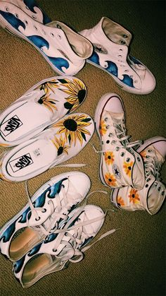 allstar converse vans shoes allstar converse is part of Diy shoes - Kleidung Design, Aesthetic Shoes, Aesthetic Girl, Painted Clothes, Shoe Art, Shoe Shoe, Custom Shoes, Customised Shoes, Vans Shoes