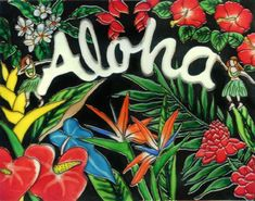 Aloha  Decorative Ceramic Art Tile  11x14 En Vogue *** Be sure to check out this awesome product.