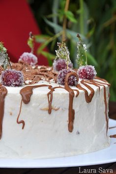 Birthday Cake For Mom, Mom Cake, Mai, Panna Cotta, Good Food, Low Carb, Pudding, Ethnic Recipes, Desserts