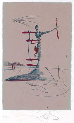 The Woman in the Cosmos Dominating the World - Art Gallery - Salvador Dali Society