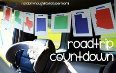 *Random Thoughts of a SUPERMOM!*: Roadtrip Ready: Roadtrip Countdown