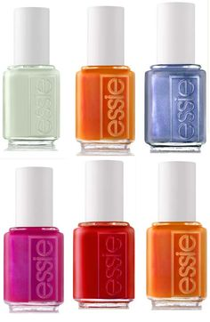 Essie Summer Collection 2011. I want them all.