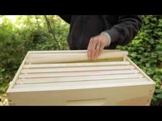 Beekeeping for Beginners—Hive Set Up {video} http://groworganic.com/organic-gardening/videos/beekeeping-for-beginners-hive-set-up