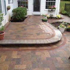 raised patios - contemporary - landscape - detroit - Apex Landscape and Brick Services LLC Raised Patio, Contemporary Patio, Outdoor Living, Outdoor Decor, Patio Design, Landscape Design, Brick, Backyard, Patio Ideas