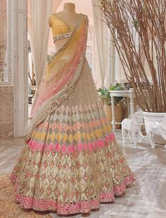 Indian Fashion Dresses, Indian Bridal Outfits, Indian Bridal Fashion, Indian Lehenga, Lehenga Choli, Indian Gowns, Sarees, Indian Wear, Indian Wedding Lehenga