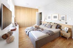 Sypialnia w stylu skandynawskim - Architektura, wnętrza, technologia, design - HomeSquare