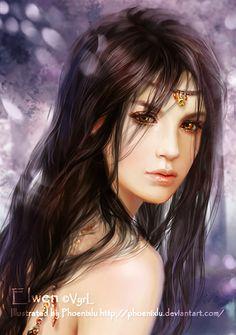 Цифровое искусство Сказочные девушки