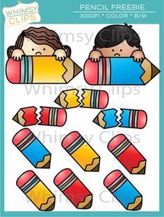Free Pencil Clip Art by Whimsy Clips Broken Pencil, Classroom Websites, Sharp Pencils, Classroom Clipart, Clip Art, Cute Clipart, Clips, Bible Lessons, Colour Images