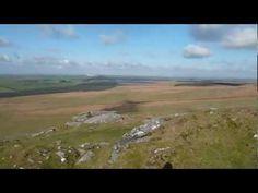 360 view from Rough Tor Bodmin Moor Walking Videos http://www.walksandwalking.com/2012/12/cornwall-walks-bodmin-moor-rough-tor-and-brown-willy-video/