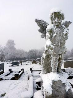 Frozen Stone cold.