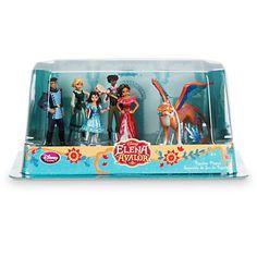 Disney Store New Princess Elena Of Avalor Figurine Playset Cake Topper New W Box