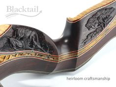 Hand-carved 'Legacy Series' bow.