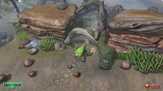 Terrarium Land level with Beetle. #gamedev, #indiegame, #madewithunity, #indiedev,  #unity3d, #terrarium_land,