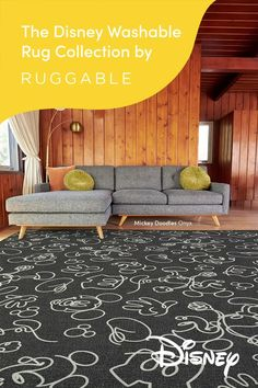 The magic of Disney meets the magic of machine-washable. Featuring subtle silhouettes of Disney's most beloved characters, your favorite washable rugs are as magical as they are functional. Rooms Ideas, Disney Home Decor, Disney Room Decorations, Disney Rooms, Disney Disney, Mason Jar Wall Sconce, Toy Rooms, French Country Decorating, My Living Room