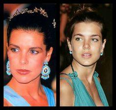henewprincessintown:  Royal Resemblance -Princess Caroline and Charlotte Casiraghi