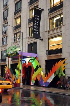 """Gaga's Workshop"" entrance into Barney's 2011"