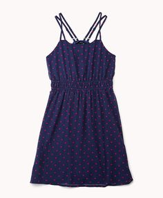 Polka Dot Georgette Dress | FOREVER21 Who is ready for summer?