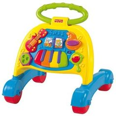 The Fisher Price Brilliant Basics Musical Activity Walker adds thrill to learn walk with exciting musical accompaniment!