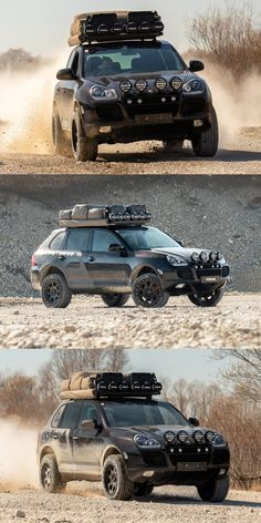 Porsche Cayenne Transformed Into Hardcore Off-Roader. And it's going on a crazy off-road adventure. 4x4, Custom Porsche, Range Rover Supercharged, 20 Inch Wheels, Off Road Adventure, Rally Car, Indiana Jones, Aston Martin, Offroad
