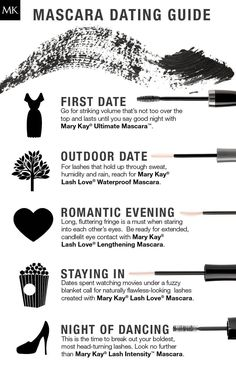 Date night can happen anywhere at any time. No matter where your date takes you, the Mary Kay® mascara wardrobe has the lash look you need!