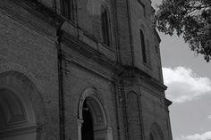 Iglesia de la Encarnación fachada, Asunción, Paraguay.