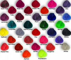 ✝☮✿★ COLORFUL HAIR COLORS ✝☯★☮