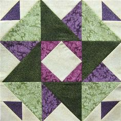 """Patchwork Party 201  Block.  - Castle in the Sky: This is the Shabby Fabrics block for a+href=""""http://patchworkparty.com/"""">Patchwork+Party+2012"""