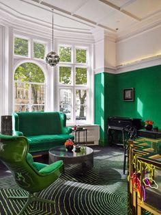 I love the design of Solange Azagury-Partridge's home