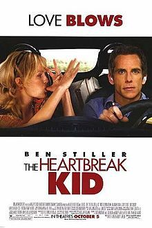 The Heartbreak Kid -  this proves that putting two big names in a poor story line does,'t help it from sinking. The angel turns after marriage-about 10 minutes in real time and the movie gets to nothing but a cliche. Wear a life preserver to watch this one. 3/10