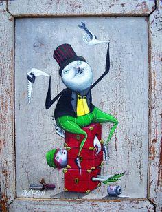street artist Marco Burresi