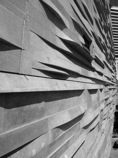 Museum Naturwissenschaft Dallas Detail Texas USA Architektur archdaily Beton w .