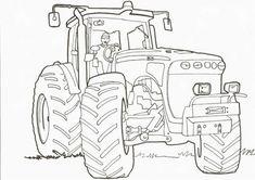 Les 7 Meilleures Images De Coloriage Tracteur En 2017