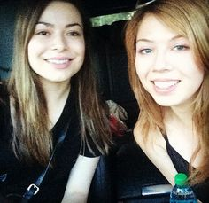 Jennette McCurdy and Miranda Cosgrove spend the weekend together!