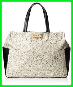 ZAC Zac Posen Eartha Everyday Large Shopper Shoulder Bag, White, One Size - Shoulder bags (*Amazon Partner-Link)