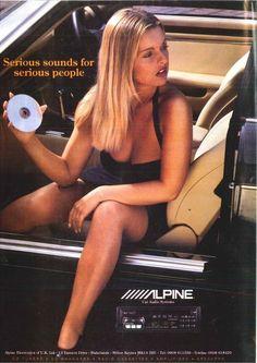 Alpine 1990's advert