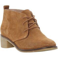 Bertie Pearl Low Ankle Desert Boots