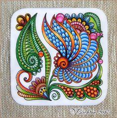 Zentangle Drawings, Doodles Zentangles, Mandala Drawing, Zentangle Patterns, Doodle Drawings, Tangle Doodle, Tangle Art, Zen Doodle, Doodle Art