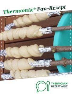 Süßes Stockbrot von Kati4Zwerge. Ein Thermomix ® Rezept aus der Kategorie Brot & Brötchen auf www.rezeptwelt.de, der Thermomix ® Community.