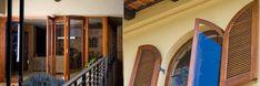 Wood and aluminium doors and windows Aluminium Windows And Doors, Stairs, Wood, Home Decor, Stairway, Decoration Home, Woodwind Instrument, Room Decor, Timber Wood